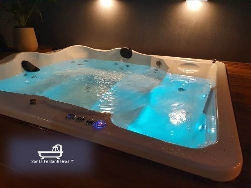 ofuro  spa area externa 7 lugares brilho black friday