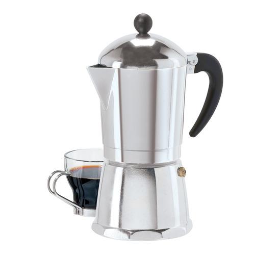 oggi 6 tazas de fundición aluminio espresso
