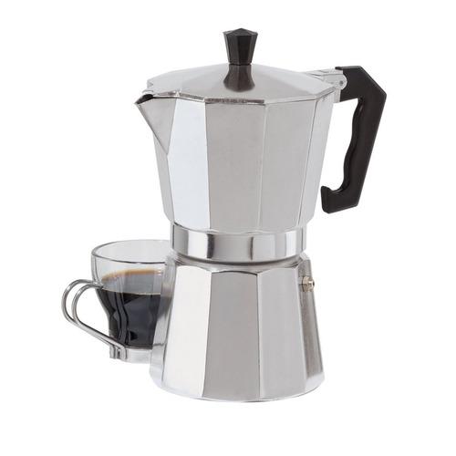 oggi 6 tazas de fundición aluminio espresso maker
