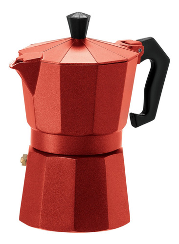 oggi 6570 3 taza de fundición aluminio espresso maker