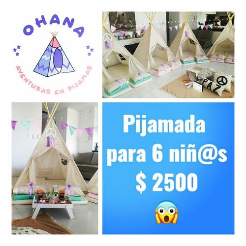 ohana » alquiler de carpas tipi para pijamadas