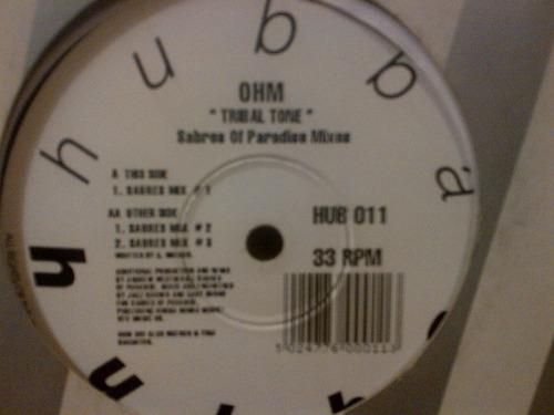 ohm - tribal tone vinyl maxi house