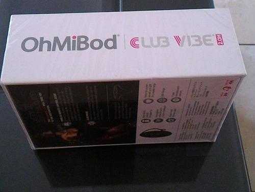 ohmibod club vibe 2.0h , tokens, original + obsequio