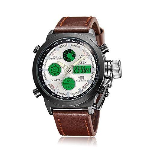 Ohsen Relojes Digitales Analogicos Para Hombre Sport Reloj D ... 7c3577c1be35
