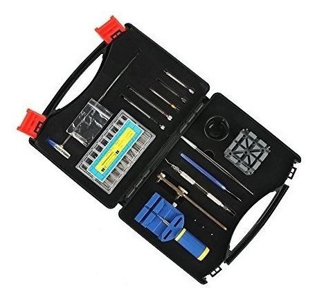 ohuhu 175 pcs watch kit de herramientas de reparacion case p