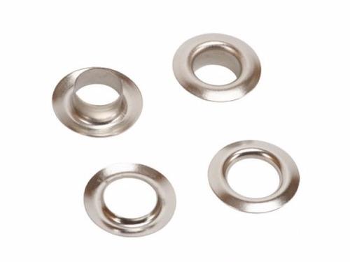 ojalillos metal hierro nº 1500 color niquel c/arand x 1000