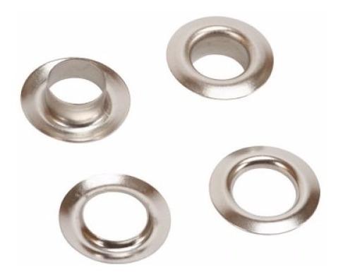 ojalillos metalicos hierro nº 750 niquelados x 2000