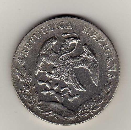 ojo. 8 reales de ca.1891 bu.