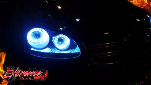 ojo angel led rgb tuning!todos los colores! mirar video