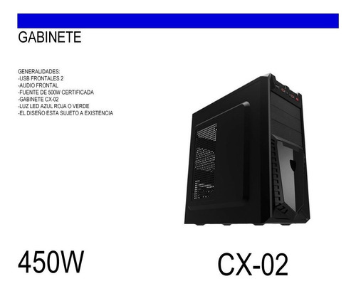 ojo computadora cpu pc intel core i3 3.9ghz x 2 / 4gb 500gb