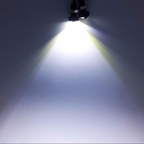 ojo de aguila dual estrobo drl led auto moto lupa freno stop