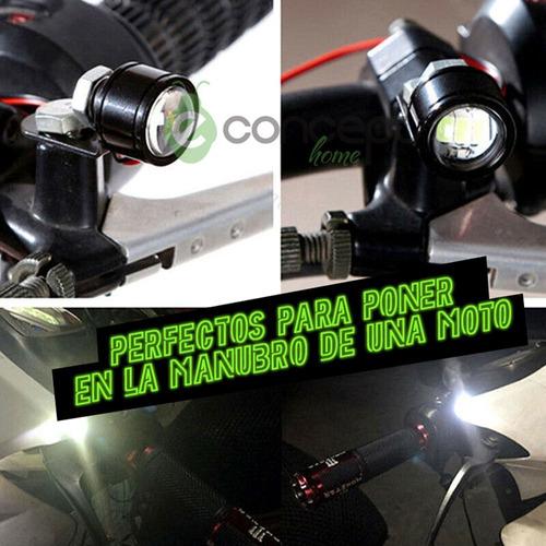 ojo de aguila para moto camioneta auto - caja x 2