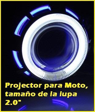 ojo de angel  proyector led  para motos y autos