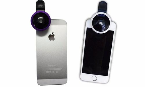 ojo de pez 3 en 1 celular grande ojo panorámico - nice home