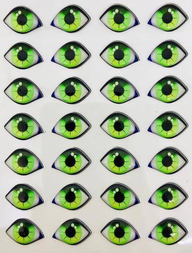 ojos 3d porcelana reales duendes resinados autoadhesivos