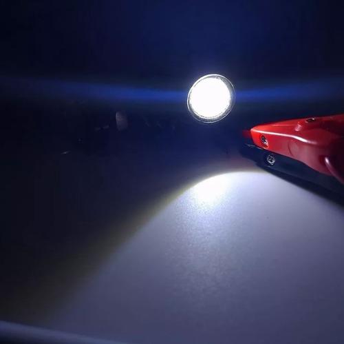 ojos de aguila led con estrobo para moto o auto 2 unidades