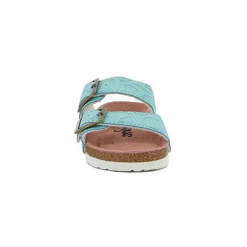 ojota sandalia angus  2 hebillas casual de niña