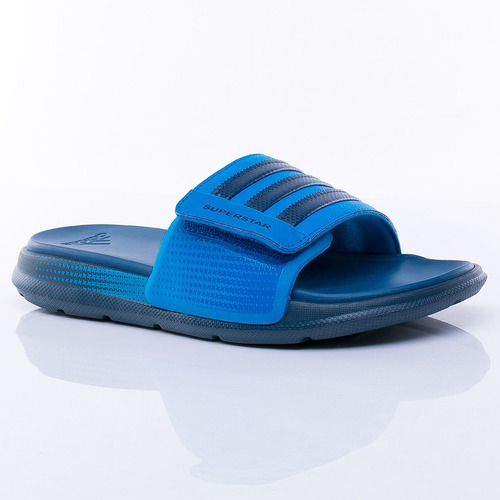 ojota superstar 4g blue adidas sport 78