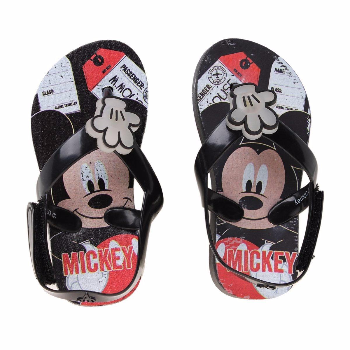 Ojotas Disney Mickey Luces Addnice Originales , Mundo Manias