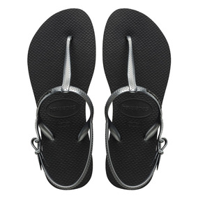 f53e42d565d Havaianas Freedom Negras Mujer - Zapatos en Mercado Libre Argentina