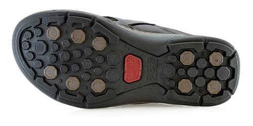 ojotas hombres sandalias cuero 130662-04 pegada luminares