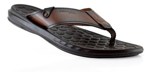 ojotas hombres sandalias cuero 133001-02 pegada luminares