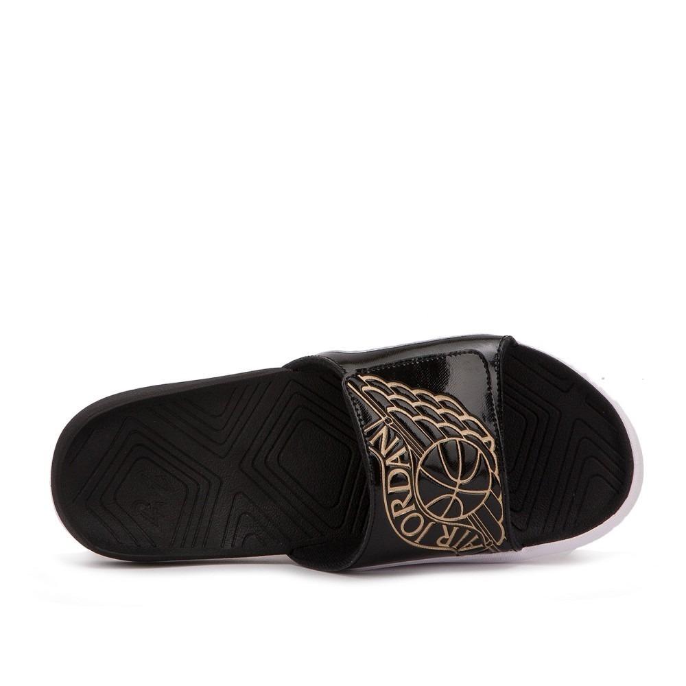 factory price 00f29 5f397 Ojotas Jordan Hydro 7 Slide Black / Gold - Mens