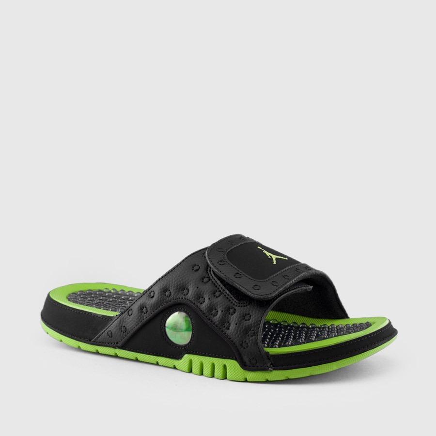 competitive price 37250 a87e6 Ojotas Jordan Hydro Retro 13 Altituded / Black Green - Mens
