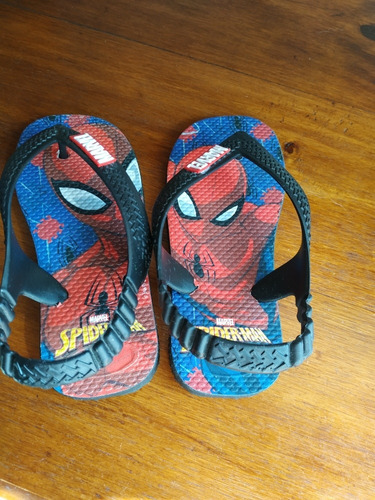 ojotas marvel spiderman infantil t 25/26