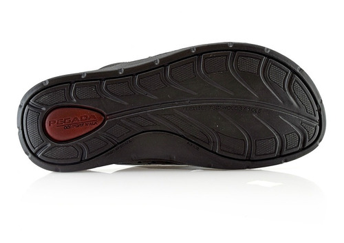 ojotas sandalias cuero 132803-05 pegada luminares