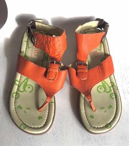84ebe77a8 Sandalias Cangrejeras Plastico - Ojotas de Mujer Naranja en Mercado ...