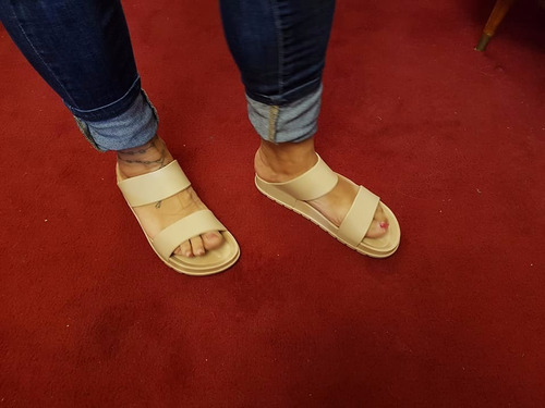 ojotas sandalias de goma flex verano 2018