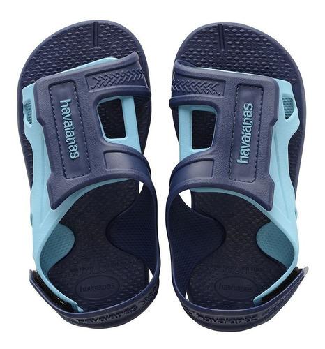 ojotas sandalias havaianas niños navy blue