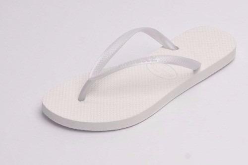 ojotas sandalias hawaianas slim dama por docena casa andrea