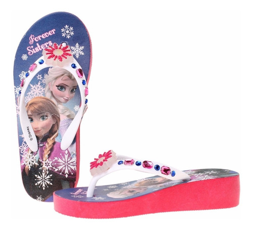 ojotas taco disney frozen princesas con luces - mundomanias