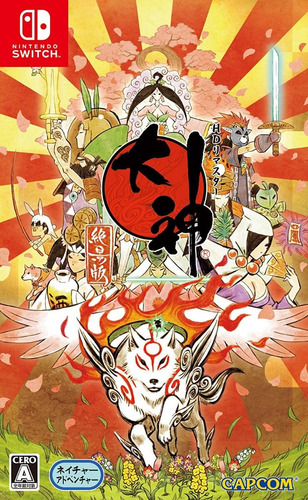 okami switch version japonesa - fisico - sellado*