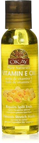 okay aceite vitamina e cabello y piel 2 oz,...
