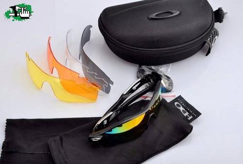 okley radarlock  4 lentes intercambiables