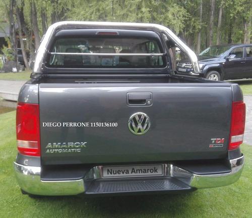 okm volkswagen nueva amarok 4x2 linea 2017 confort aut alra
