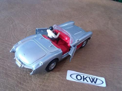 okw trenes escala o maisto 57 corvette convertible figura
