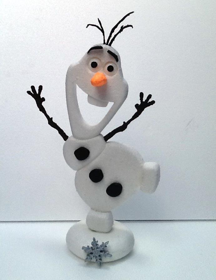 Olaf,+ Pack Feliz Cumple Frozen + 125 Copos Frozen