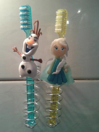 olaf,10  portacepillos de dientes con cepillo incluido