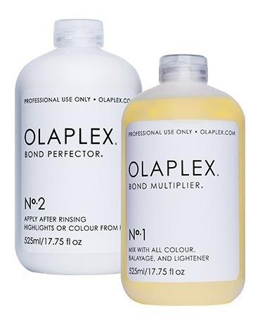 olaplex kit # 1 x 50ml y # 2 x100ml , importado original %