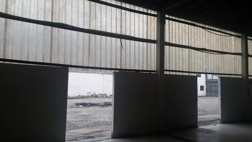 olaria - galpão com área 2.700 m2 todo em plataforma e doca