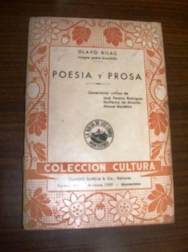 olavo bilac   poesia y prosa