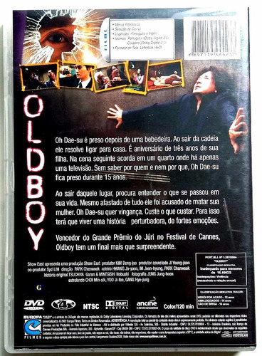 old boy (2003) - dvd cult original!