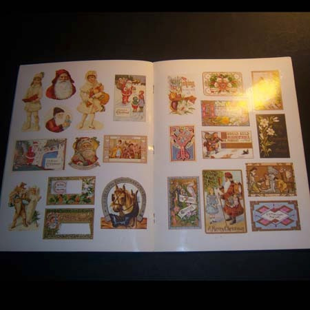 old-fashioned christmas stickers & seals . belanger grafton