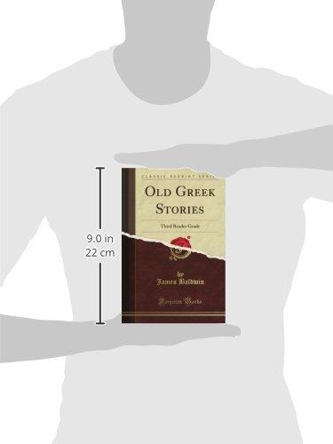 old greek stories: third reader grade  reimpresion clasica