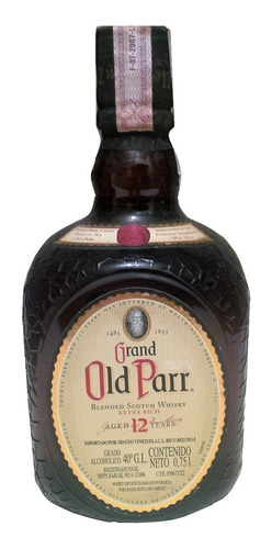 old parr - whisky 12 años (25$) / 003160