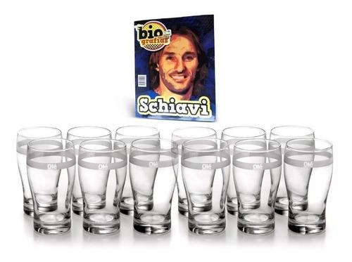 olé colección de vasos cerveceros set de 12 vasos